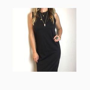 Simple Minimalist Midi Dress